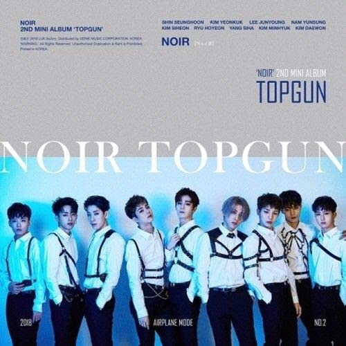 Noir - [Topgun]2nd Mini Album CD+98p Booklet+2p PhotoCard K-POP Sealed Idol Boy