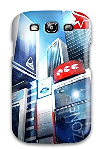 Anti-scratch And Shatterproof Mirror's Edge 2 2015 Phone Case For Galaxy S3/ High Quality Tpu Case