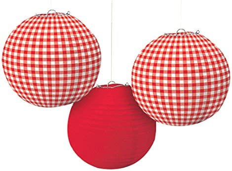 Delightful Picnic Party Lanterns Decoration
