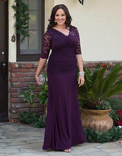 Kiyonna Women\'s Plus Size Soiree Evening Gown at Amazon Women\'s ...
