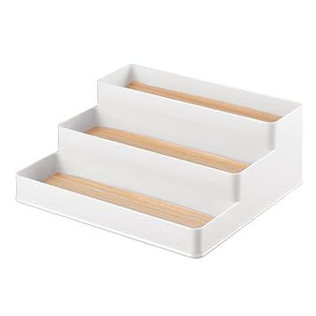 InterDesign 90350EU RealWood 3-stufiger Küchenschrank-Organizer für ...