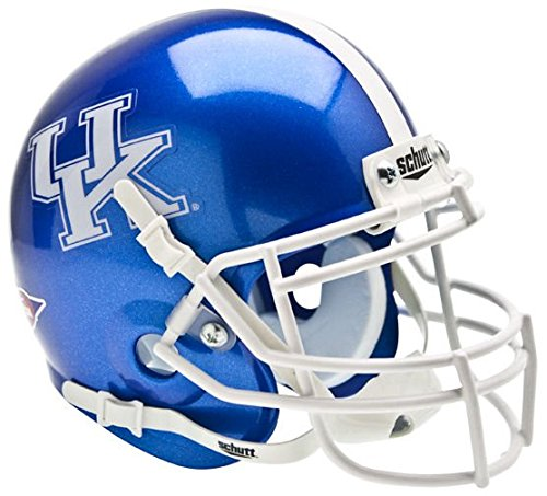 (KENTUCKY WILDCATS NCAA Schutt XP Authentic MINI Football Helmet UK)