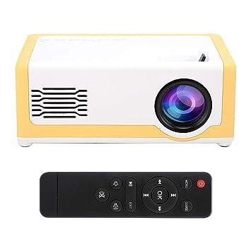 Mini proyector, proyector portátil de Cine en casa para Altavoces ...