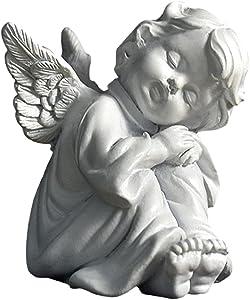 Brteyes Angel Resin Garden Statue Figurine Fairy Angel Sculpture Home Decoration