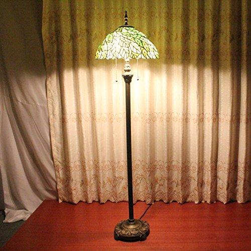 ALUS- 16 inch European high-grade complex Guti Giovanni small living room bedroom creative handmade floor lamp - Glasses Giovanni