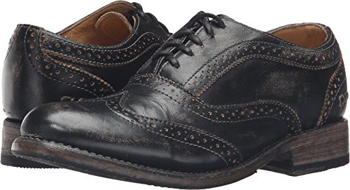 Bed Stu Women's Lita Oxford Black Handwash Shoe - 8.5 B(M) US by Bed|Stu