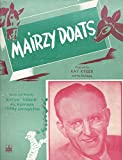 img - for Mairzy Doats Sheet Music 601-2 book / textbook / text book