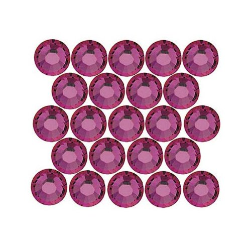 SWAROVSKI ELEMENTS Flatback Crystal Rhinestones #2028 SS9 Fuchsia -