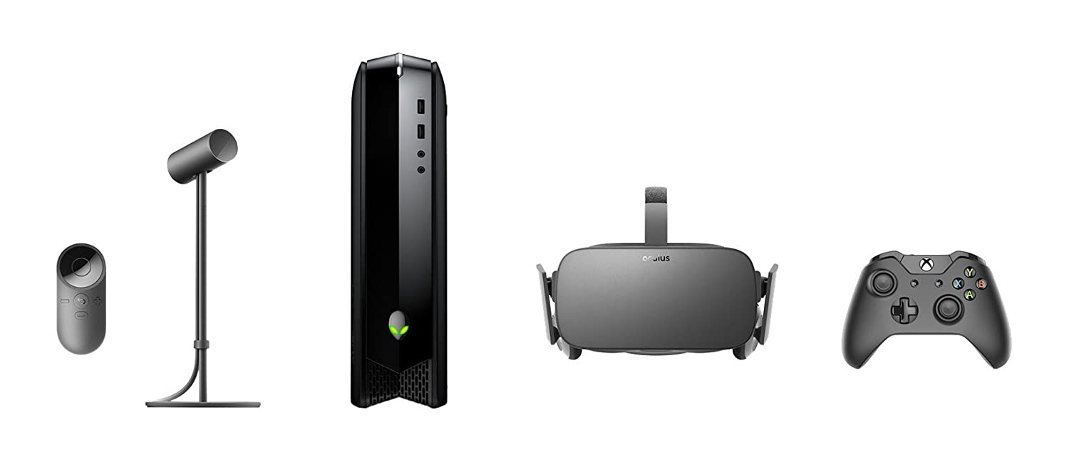 9b57a3e4270 Amazon.com  Oculus Rift + Alienware Oculus Ready X51 R3 i5 8GB Desktop PC  Bundle  Bundle is Discontinued   Computers   Accessories