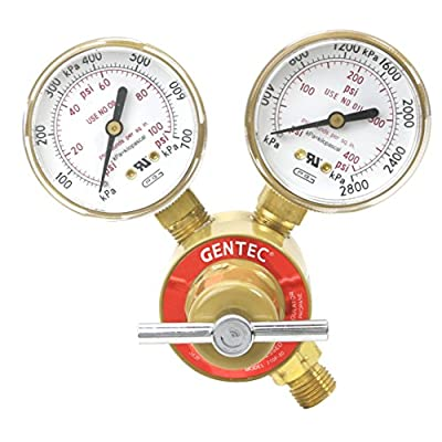 Gentec Compressed Gas Regulator Propane CGA510 710F-80