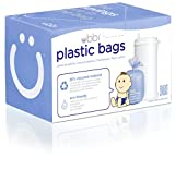 UBBI Plastic Biodegradable Diaper Bags, Purple