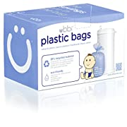 Ubbi Plastic Bags, Purple