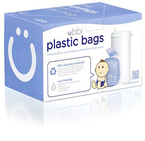 Ubbi 10085 Plastic Bags Purple product image