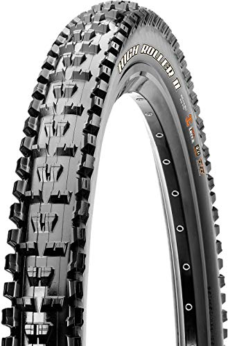 Maxxis High Roller II Dual Compound EXO Folding Tire, 29-Inch x 2.3-Inch (Best Mtb Tires For Rocky Terrain)