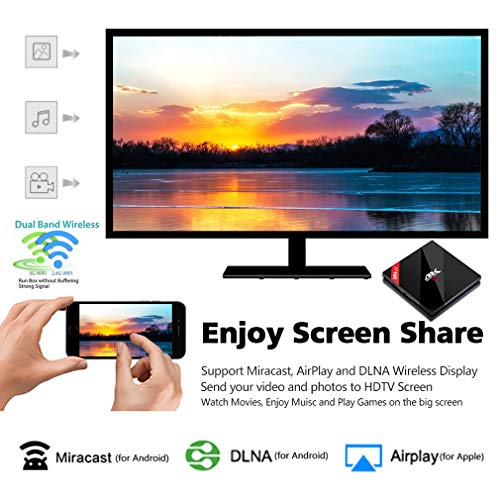 H96 Pro+TV Box Android 7 1 Nougat 3GB RAM 16GB ROM 4K Smart TV Box Amlogic  S912 Chipset Dual-Band WiFi 2 4GHz/5 0GHz Bluetooth 4 1 1000M LAN Android