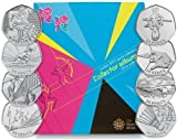 London 2012 Olympics 50P Coins SetWith free collector Album All 30 sets by Royal Mint