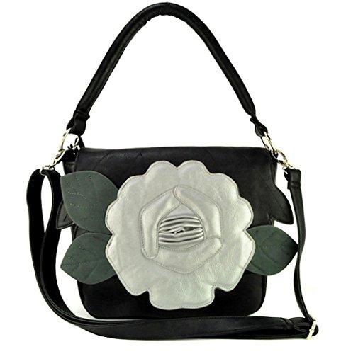 Bolso sintético de Acosta única mujer Jewellery negro talla para al hombro negro CA5n6wq