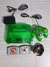 Nintendo 64 System - Video Game Console - Jungle Green