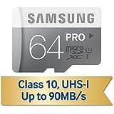 Samsung MicroSDHC 64GB PRO Memory Card MB-MG64DA/BBY