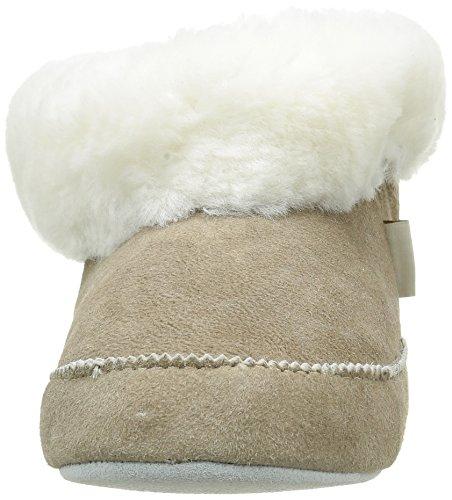 Beige 27 pietra Foderato Caldo Donne Emmy Pantofola Pastore Pantofole Bianco Delle q1KaXnH