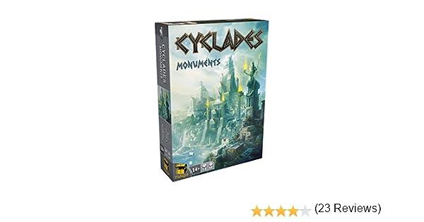 Asmodee- Juego de Tablero Cyclades: Monuments (ADEMACYEX03): Amazon.es: Juguetes y juegos