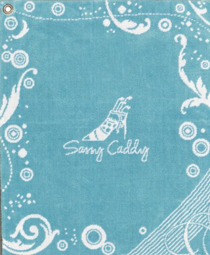 sassy-caddy-womens-golf-towel-turquoise-white