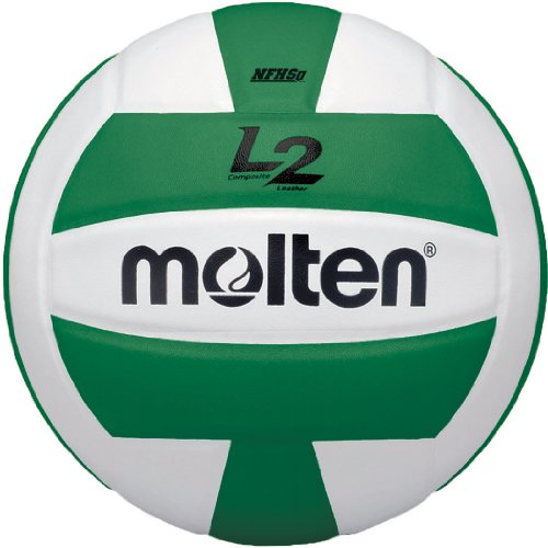Molten Premium Competition L2 Volleyball, NFHS Approved, Green