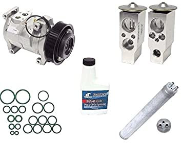 A/C remanufacturados Compresor Kit para Honda Accord 2003 - 2007 2.4L L4 4 puertas 10s17 C 77389: Amazon.es: Coche y moto