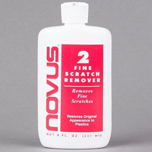 NOVUS 2 Plastic Fine Scratch Remover - 8 oz. - 6 Pack