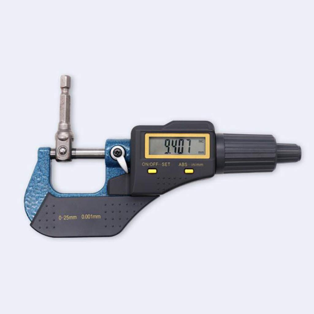 Fityle Digital 0-25mm Range Metric External/Outside Micrometer Caliper Measuring by Fityle (Image #2)
