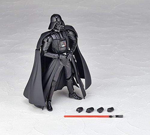 Star Wars Revoltech Darth Vader 6.7 Action Figure #001 Kaiyodo 4537807130013