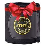 TNT Pro Series Waist Trimmer Weight Loss Ab Belt - Premium Stomach Fat Burner Sweat Wrap and Workout Waist Trainer