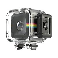 Estuche impermeable a prueba de golpes Polaroid para la cámara de estilo de vida de acción Polaroid CUBE, CUBE + HD - Se conecta a todos los soportes de la serie CUBE