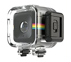 Polaroid Waterproof Shockproof Case For The Polaroid Cube, Cube+ Hd Action Lifestyle Camera – Connects To All Mounts In Cube Series