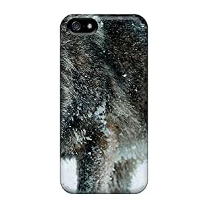Waterdrop Snap-on Winter Wolf Case For Iphone 5/5s