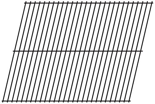 Music City Metals 96001 Steel Wire Rock Grate Replacement for Gas Grill Models West Bend 37000 and West Bend 410 ()