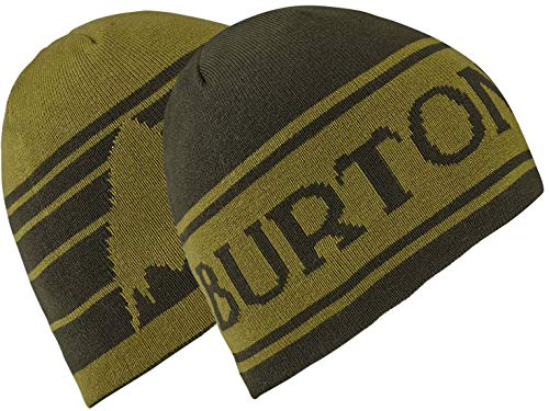 Burton Boys Youth Billboard Beanie, Resin/Olive Branch, One Size