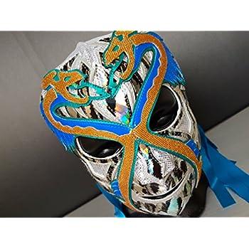 DR X MASK WRESTLING MASK LUCHADOR COSTUME WRESTLER LUCHA LIBRE MEXICAN MASKE