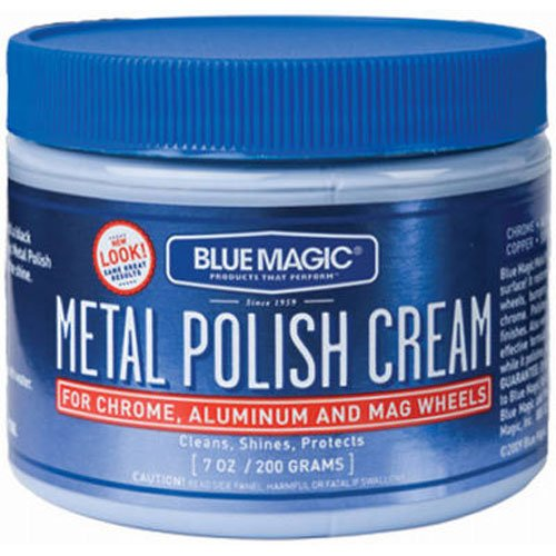 Car Cream - Blue Magic 400 7Oz Mtl Polish Cream