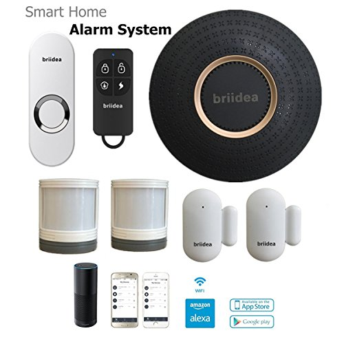Briidea m02 professional wireless smart home security for Smart home alarm system