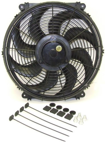 Hayden Automotive 3700 Universal Rapid-Cool Thin-Line Electric -