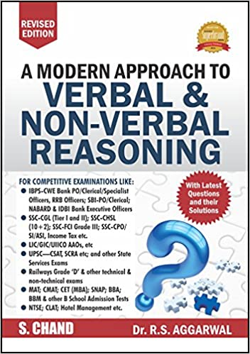 Buy a modern approach to verbal non verbal reasoning old edition buy a modern approach to verbal non verbal reasoning old edition rs aggarwal book online at low prices in india a modern approach to verbal fandeluxe Choice Image