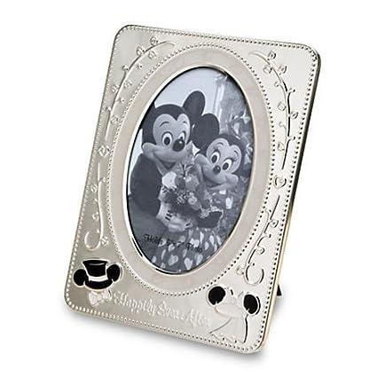 Amazon.com: Disney Parks Exclusive Minnie Mickey Wedding Metal 5x7 ...