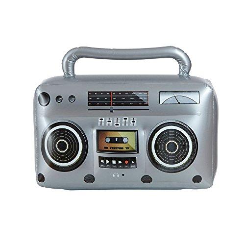 WIDMANN 04818–gonflable Hip Hop Radio avec poignée, et autres Jouets