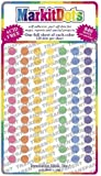 Medium 1/4 Transparent Mark It brand dots 7 color pack