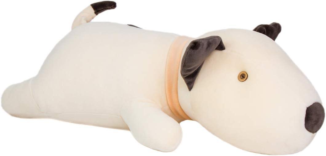 KRISPHILY Very Soft Stuffed Animals Plush Toy Terrier Dog Puppy Pitbull Pillows 21