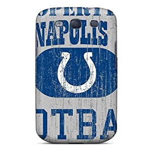 KennethKaczmarek Samsung Galaxy S3 Durable Hard Phone Case Provide Private Custom Fashion Indianapolis Colts Pictures [BTX7429sPhP]