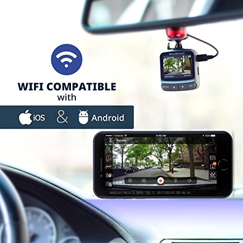 wheelwitness dash cam hd pro plus w wifi premium dash camera for cars wifi gps sony. Black Bedroom Furniture Sets. Home Design Ideas