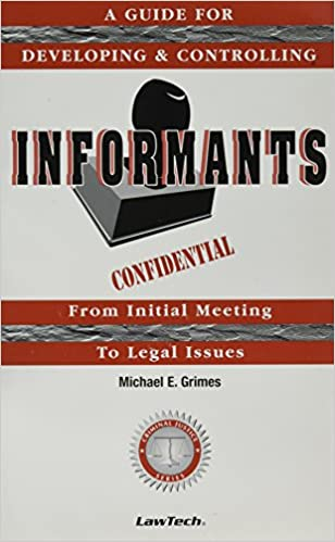 Amazon com: Informants - A Guide for Developing and