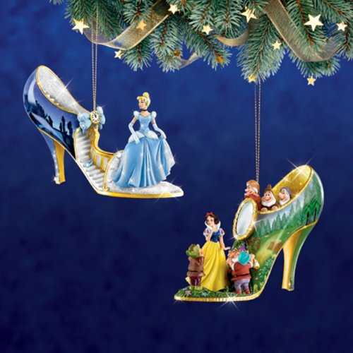 The Disney Once Upon A Slipper Shoe Ornament (Bradford Collectible Ornaments)
